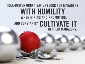 The Power of Humility in Leadership